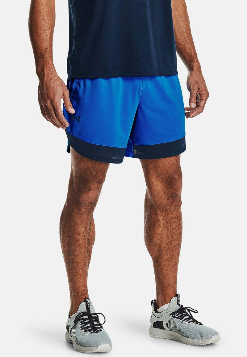 Under Armour - TRAIN - Sports shorts - blue circuit