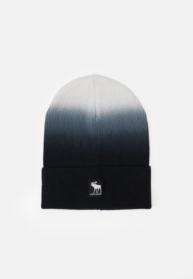 DIP DYE BEANIE UNISEX - Bonnet - black