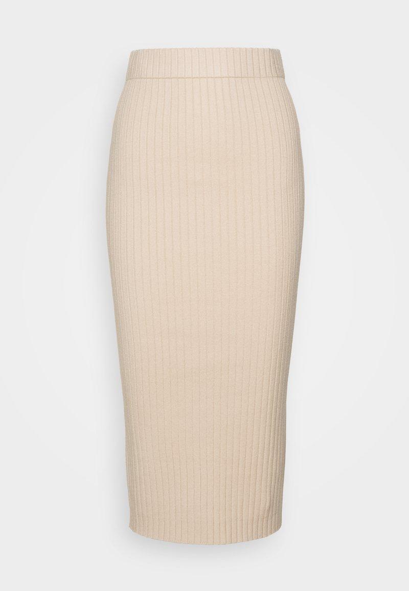 Glamorous Tall - MIDI SKIRT - Pencil skirt - stone