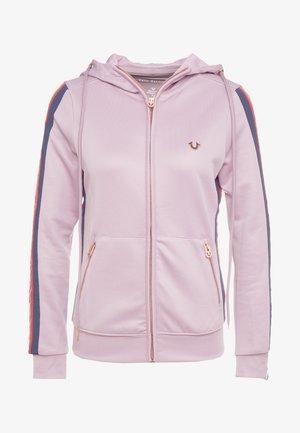 HOODED STRIPE - Zip-up hoodie - cloudburst