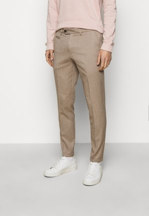 COMO SUIT PANTS - Trousers - beige
