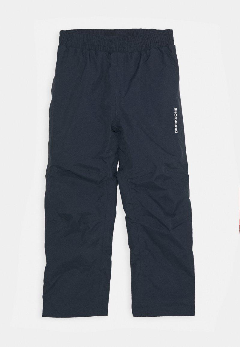 Didriksons - NOBI KIDS PANTS  - Rain trousers - navy
