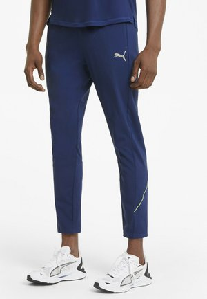 HOMMES - Tracksuit bottoms - elektro blue