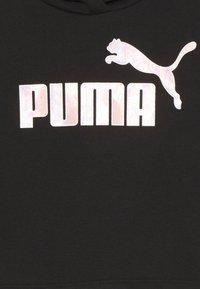 Puma - LOGO CROPPED HOODIE - Sweatshirt - black - 2