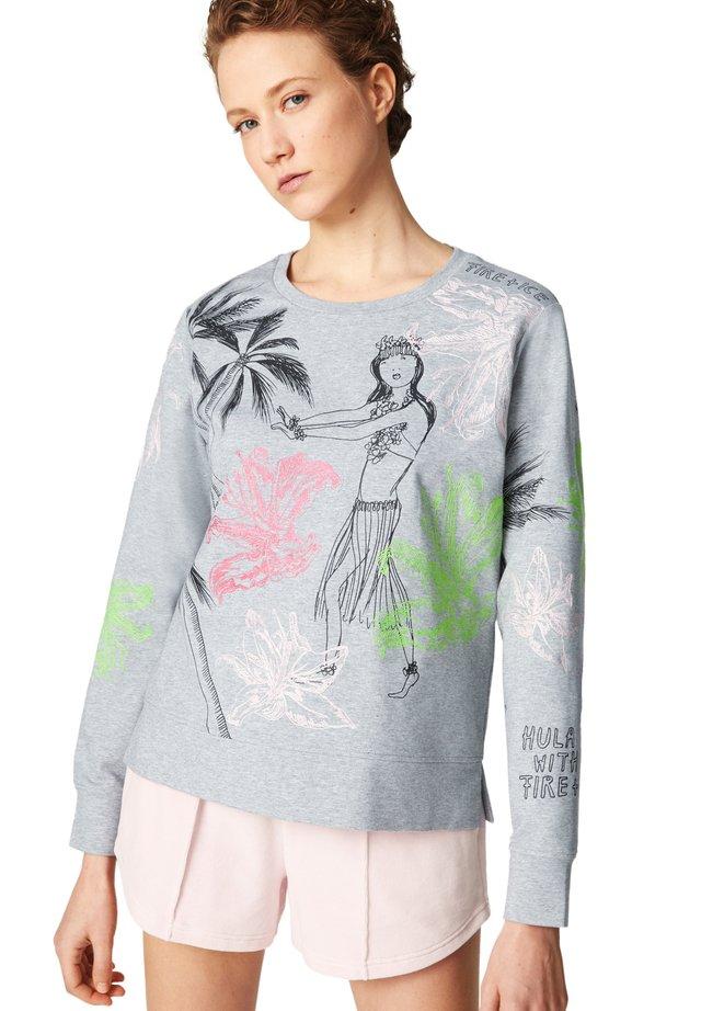 Sweater - hellgrau