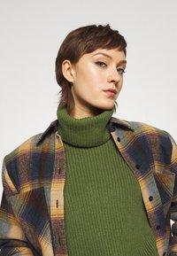 Iro - MINSI - Short coat - purple/multicoloured - 3