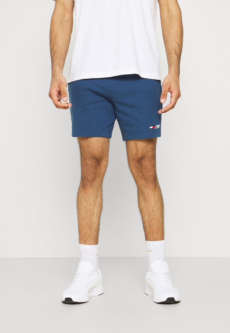 Tommy Hilfiger - LOGO SHORT - Sports shorts - blue
