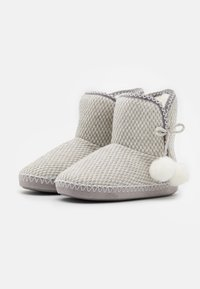 Anna Field - Slippers - light grey/white - 2