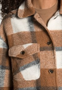 Rich & Royal - JACKET CHECKED - Light jacket - chocolate brown - 4