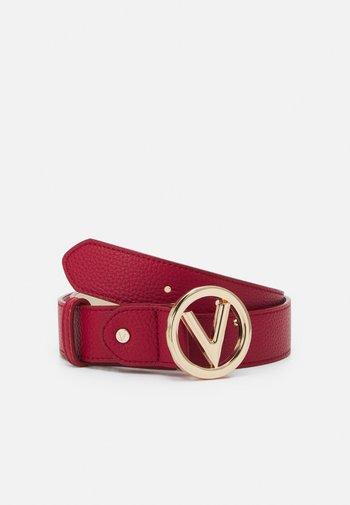 ROUND - Belt - rosso