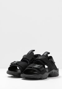 Nike Sportswear - CANYON  - Walking sandals - black - 4