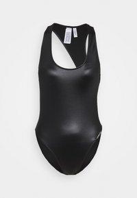 CORE ESSENTIALS SCOOP BACK ONE PIECE - Swimsuit - black