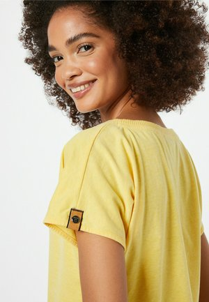 SCHNITZEL - T-shirt basic - gelbmeliert