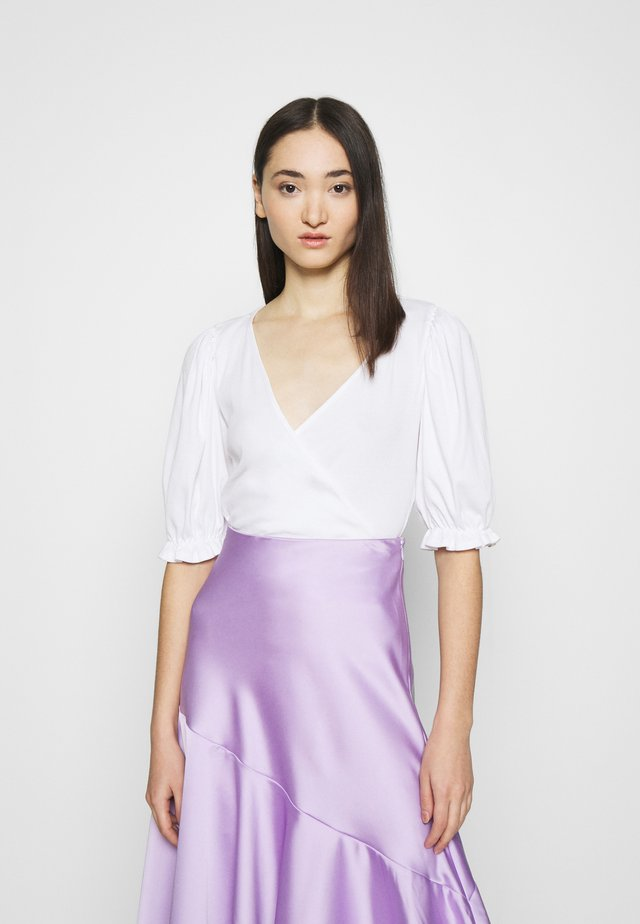 ULLA  - T-shirt con stampa - white light