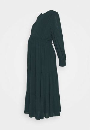 MATERNITY DRESS - Denní šaty - bottle green