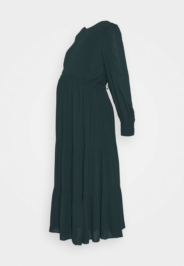 MATERNITY DRESS - Day dress - bottle green