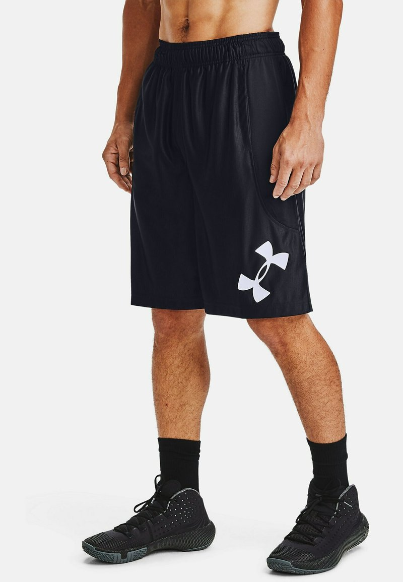 Under Armour - Sports shorts - black