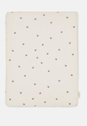 CHANGING CUSHION UNISEX - Changing mat - off white/red