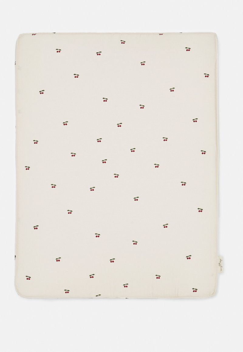 Konges Sløjd - CHANGING CUSHION UNISEX - Changing mat - off white/red