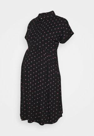 BUD DRESS - Žerzejové šaty - black
