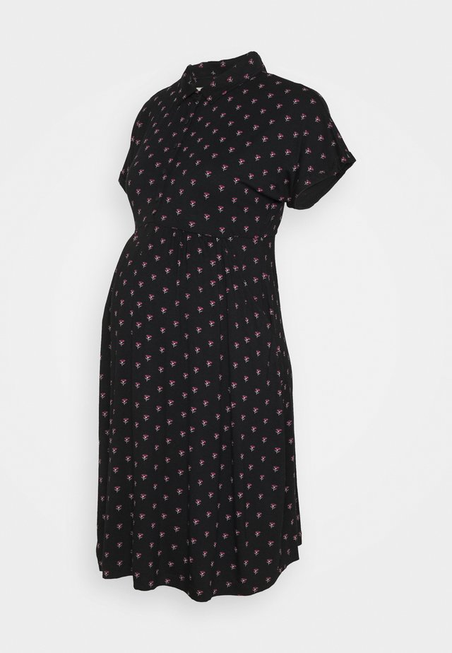 BUD DRESS - Jerseyklänning - black