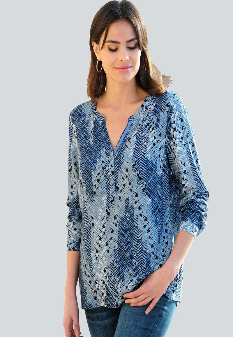 Alba Moda - Tunic - blau,off-white