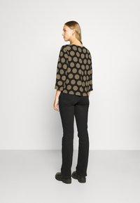 Opus - FALESA - Long sleeved top - black - 2