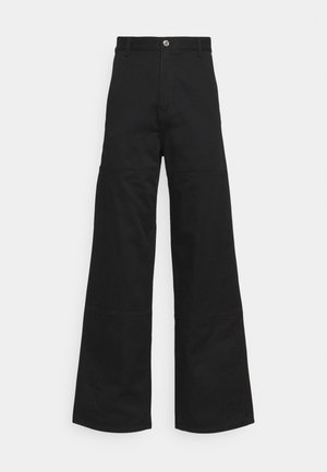 UNISEX HORACE CARPENTER TROUSERS - Tygbyxor - black