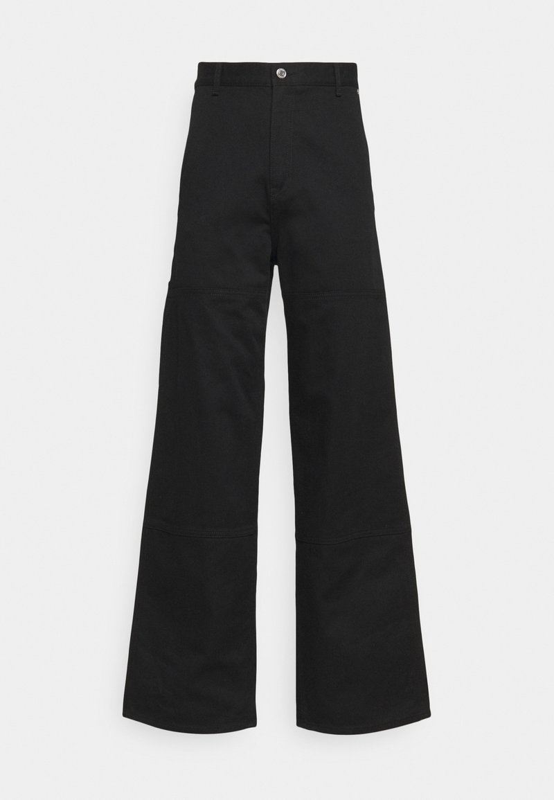 Weekday - UNISEX HORACE CARPENTER TROUSERS - Pantaloni - black