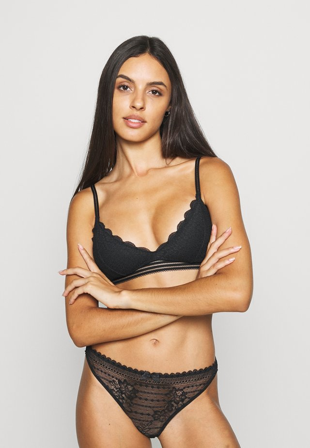 DITSY DAISY TRAINGLE - Triangle bra - black