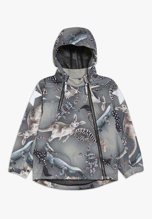 HOPLA - Vodotěsná bunda - grey