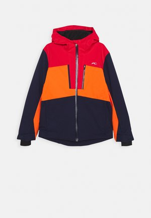 JUNIORS SNOW ROCK JACKET - Ski jacket - atlanta/scarlet