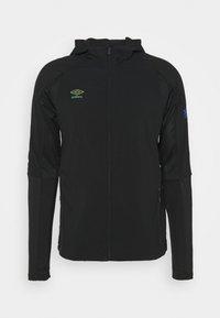 Umbro - PRO TRAINING ELITE HYBRID JACKET - Training jacket - black/carbon - 1