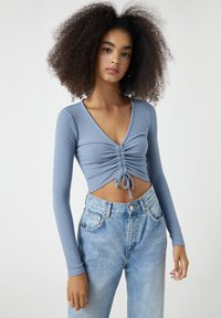 PULL&BEAR - Blouse - dark blue - 0