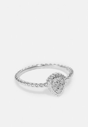 0,14 CT DIAMOND  - Anello - silver-coloured