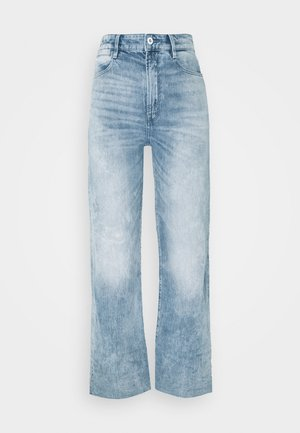 TEDIE ULTRA HIGH STRAIGHT ANKLE - Straight leg jeans - sun faded arctic