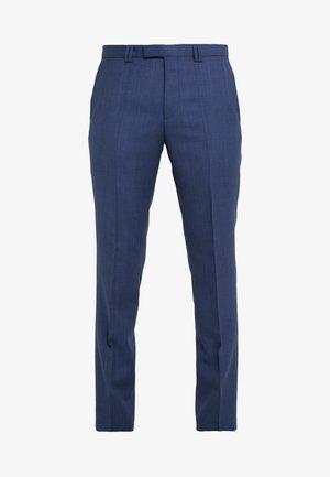 HESTEN - Oblekové kalhoty - dark blue