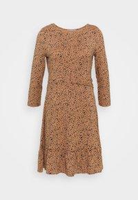 Anna Field - Jersey dress - camel/black - 0