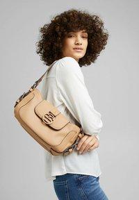 Esprit - HALLIE  - Handbag - camel - 0