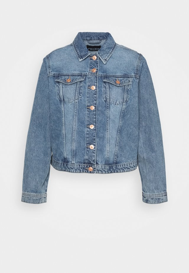 PCLOU  - Denim jacket - light blue denim