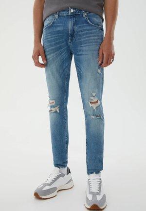 Jeans Skinny Fit - stone blue denim