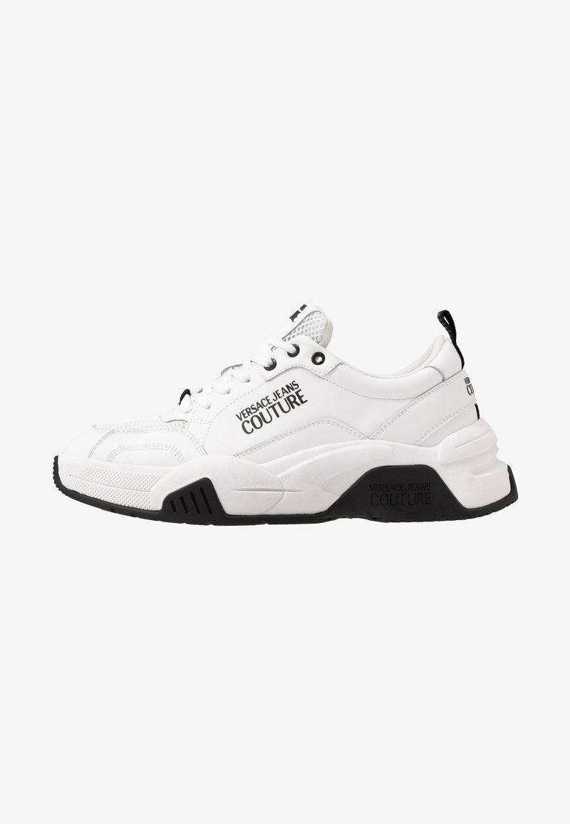 Versace Jeans Couture - Baskets basses - bianco ottico