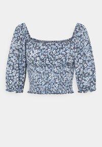 ONLY Petite - ONLPELLA SMOCK - T-shirts med print - vintage indigo - 0