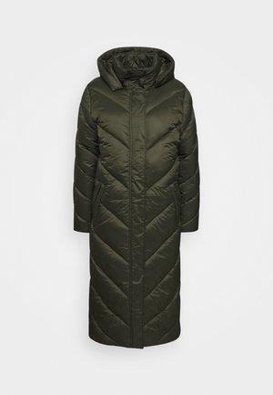 CATJA LONG JACKET - Winter coat - army green