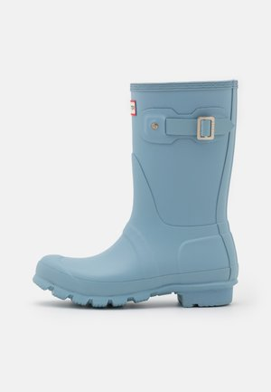 SHORT VEGAN - Wellies - blue stem