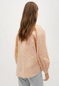 Mango - Button-down blouse - pêche - 2