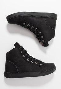 Harley Davidson - WATKINS - High-top trainers - black - 1
