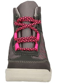Pepino - Lace-up ankle boots - grigio/graphit/pink 452 - 5