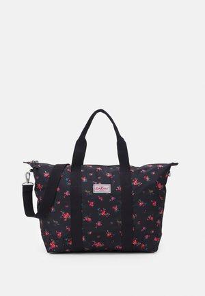 FOLDAWAY OVERNIGHT BAG - Weekend bag - charcoal