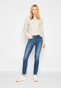 TOM TAILOR - ALEXA - Slim fit jeans - used mid stone blue denim - 2